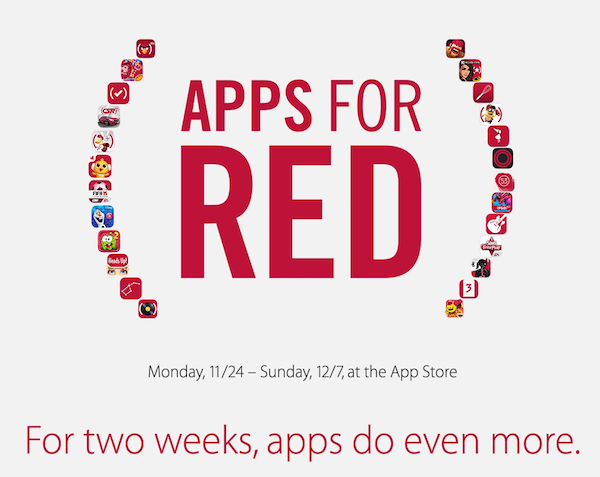 Apple Apps for (RED)