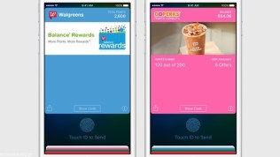 Apple iOS 9 Redeem Cards