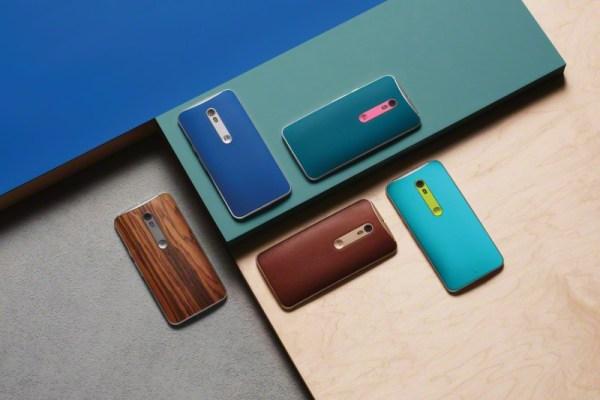 Το Motorola Moto X Style.