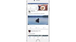Facebook Watch while multitasking