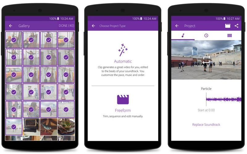 Adobe Premiere Clip for Android