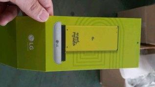 LG G5 battery box leak