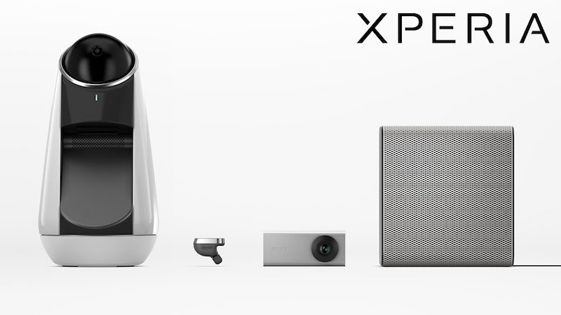 Sony Xperia Ear, Eye, Projector, Agent