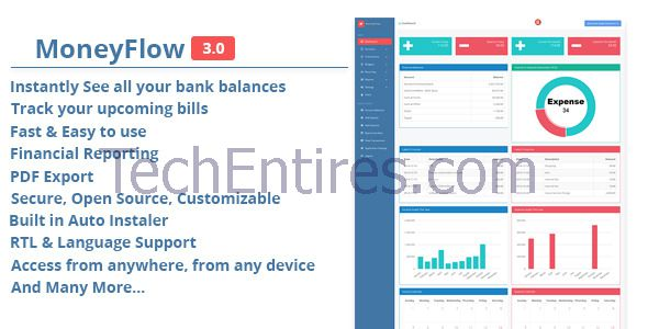 MoneyFlow v.3.0 Accounting Software