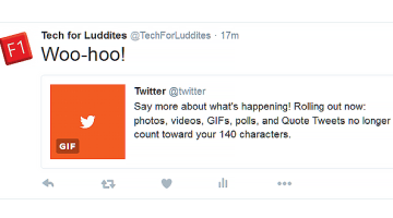 Twitter Removes Images, Videos, and More from 140-Character Count