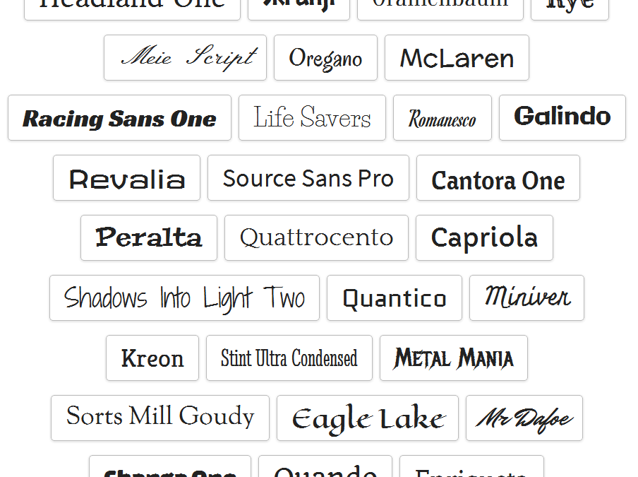 Tutorial – Adding Fonts in Google Drive