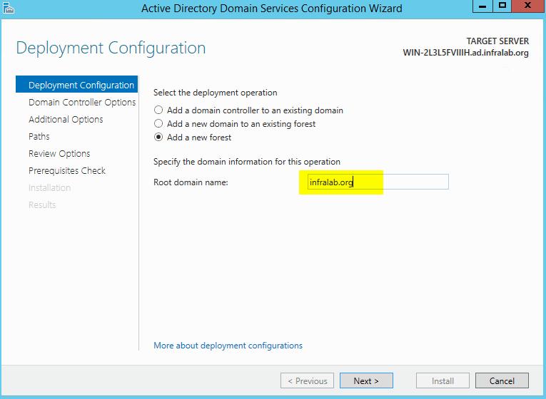 active-directory-deployment-configuration