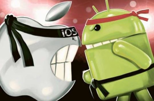 ios7-vs-android