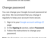 How to Change Gmail Password in Android, iPhone and iPad