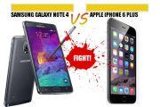 iphone 6 vs note4 comparison