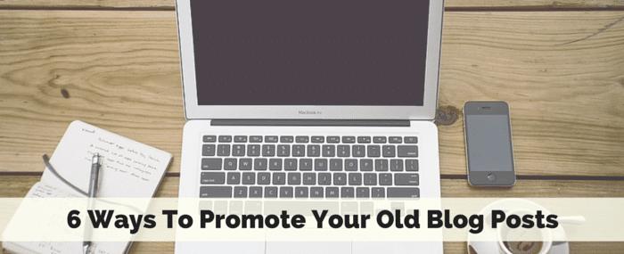 promote old blog posts