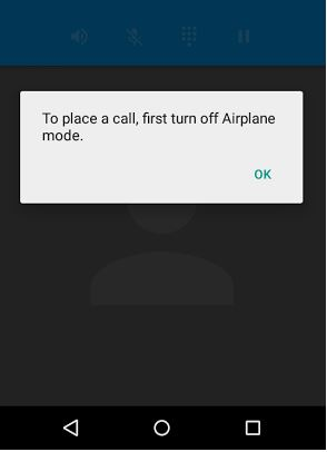How to fix airplane mode turned on automatically in android devices