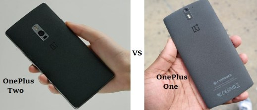 Compare OnePlus Two vs OnePlus One  features and specifications