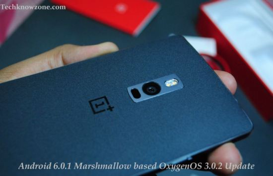 OnePlus 2 Android 6.0.1 Marshmallow based OxygenOS 3.0.2 update