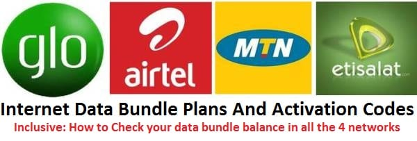 List of Cheap Nigeria Internet Data Plans with Prices