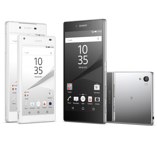 Sony Unveils Xperia™ Z5,Xperia™ Z5 Compact And The World's First 4K Smartphone Xperia™ Z5 Premium