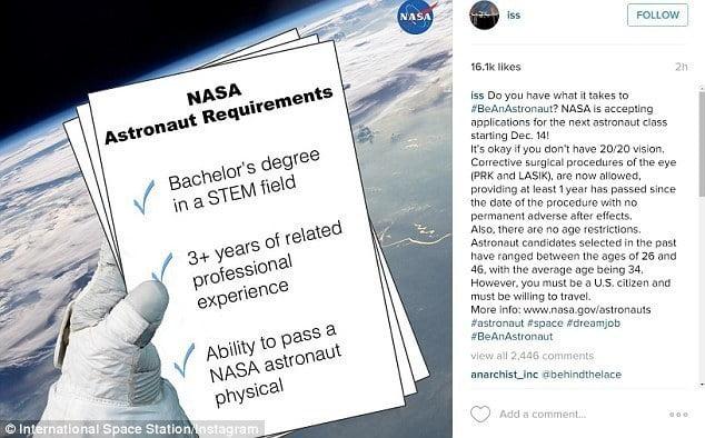 Become an Astronaut