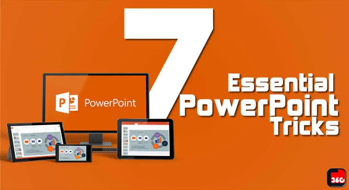 [Infographic] 7 Essential PowerPoint Tricks Probably You Don't Know About