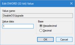 Hide Windows 10 Upgrade Prompts