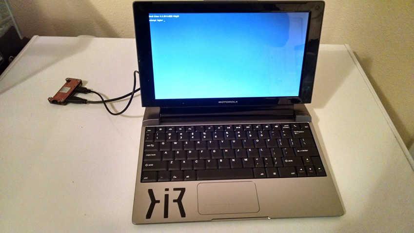 Someone Turn Motorola Lapdock Into A Laptop With Raspberry Pi Zero