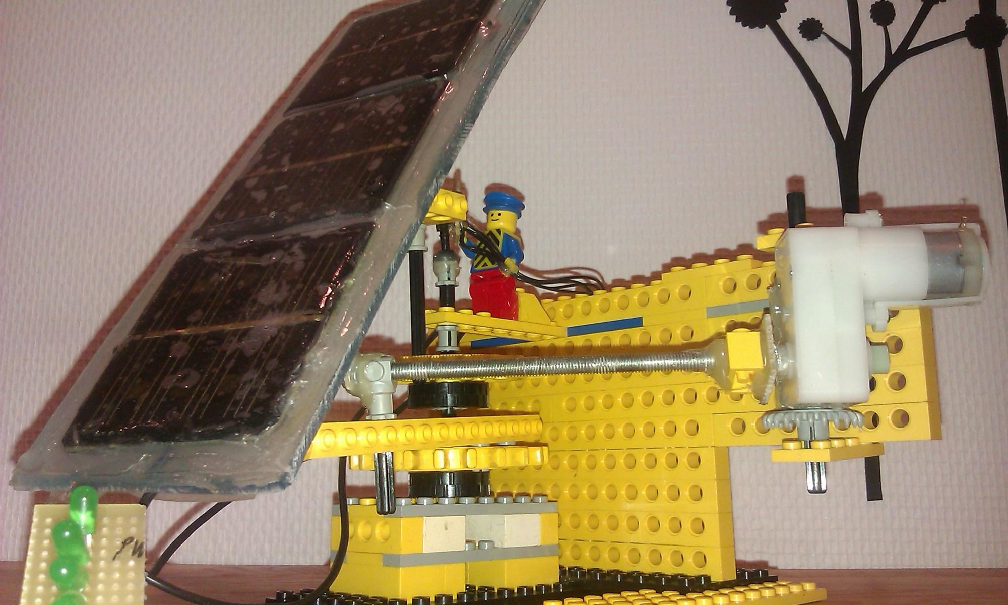 nabduino webserver som solartracker