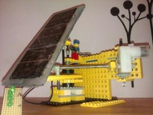 lego solartracker med arduino