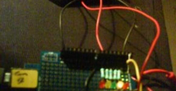 arduino viser det rette vinkel til solen