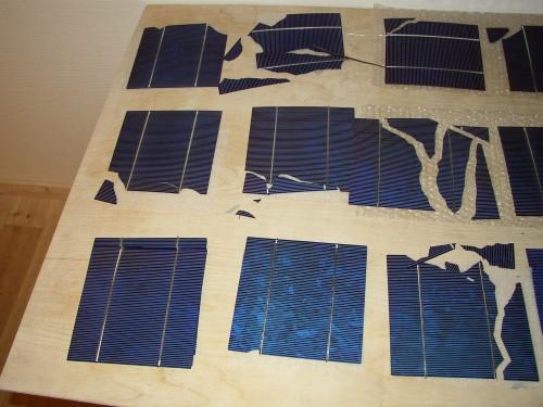 defekte solceller kan laves til solpaneler