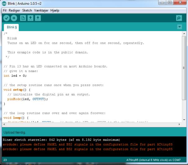 attiny85-ISP-programmer