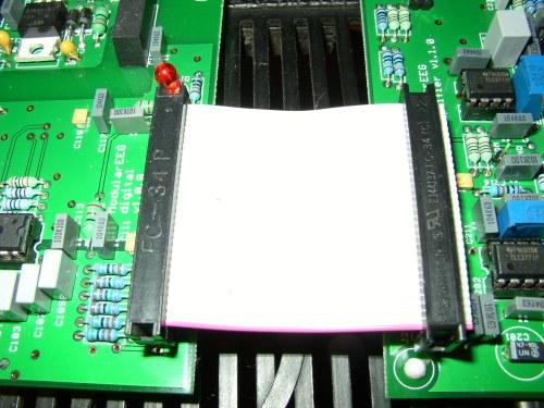 openegg interconnection between analog and digital board