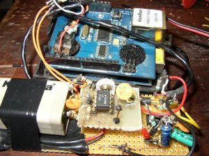 arduino med ethershield til optisk læser til elmåler
