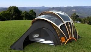 soldrevet-telt