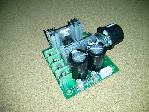 pwm DC motor controller opgivet til 400 watt