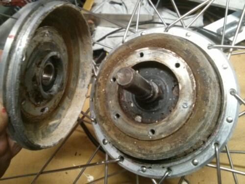 adskildt hub motor
