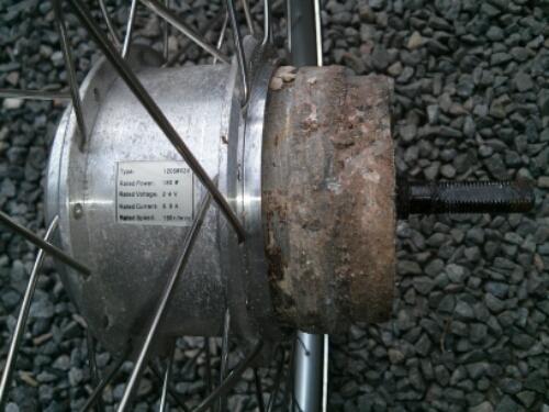 180 wats hub motor