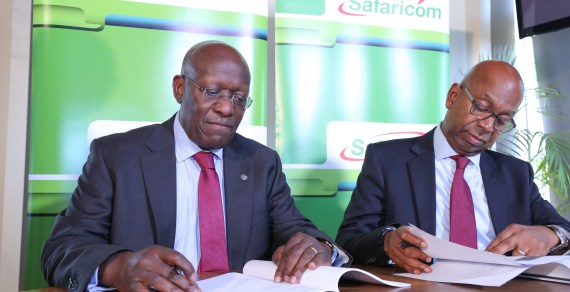 Safaricom and Kenya Rugby Union seal a partnership deal