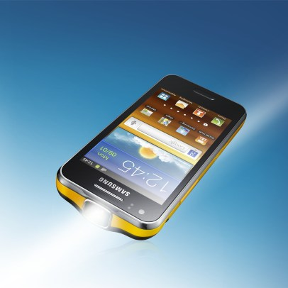 Samsung galaxy beam projector smartphone technotreats for Samsung beam smartphone