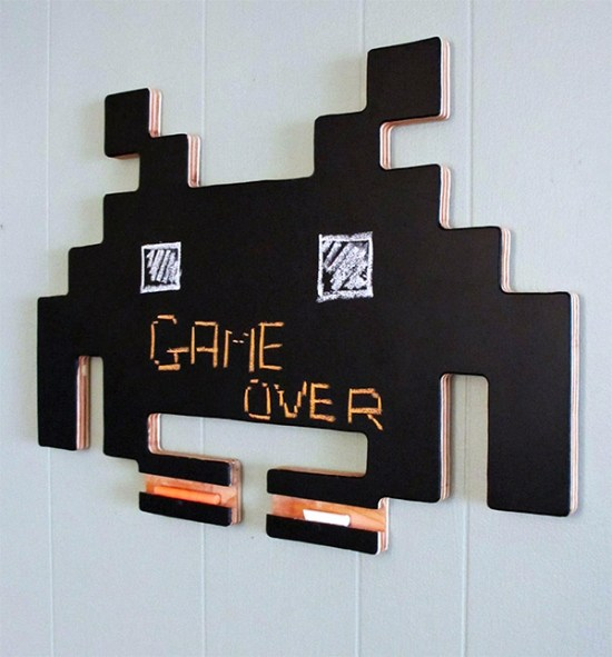 space invaders chalkboard 1