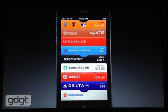 iphone 5 passbook