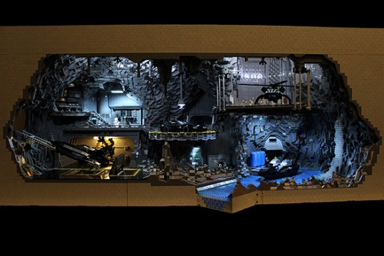 lego batcave by Carlyle Livingston II and Wayne Hussey