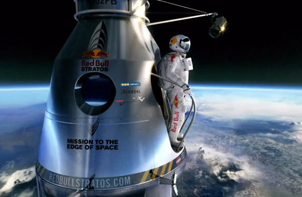 Red Bull Stratos the best brand ever?