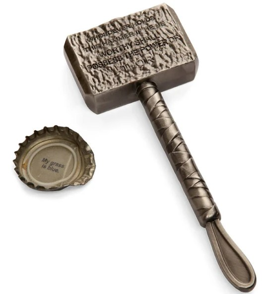 thor mjolnir hammer bottle opener