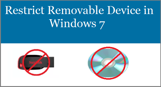 Restrict Access to Removable Device