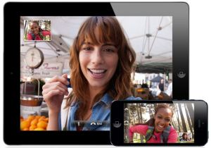 Facetime between an iPhone and an iPad