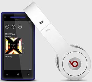 HTC 8X comes with Beats Audio