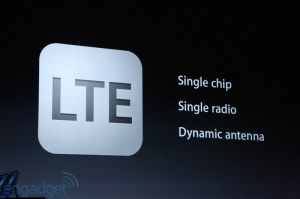 the iPhone finally gets LTE