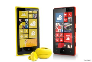 The Nokia Lumia phones