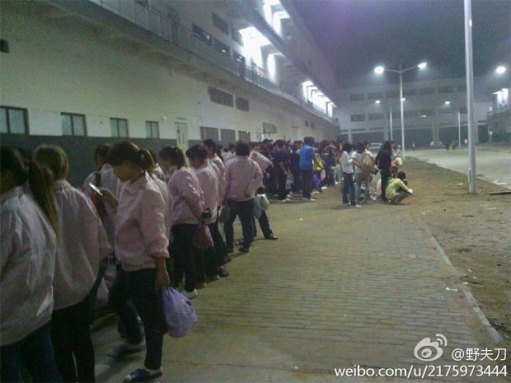 iPhone 5 production halted due to employee protests