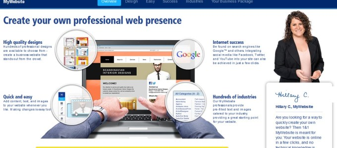 Working with a Website Builder