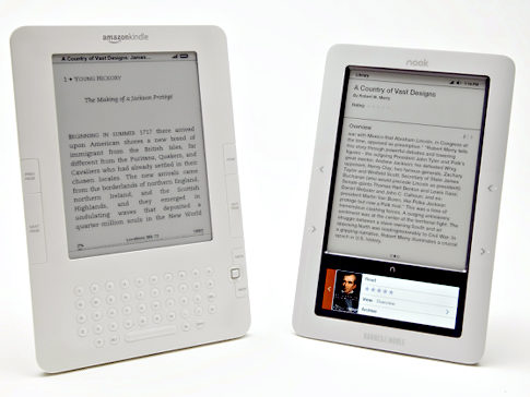 Barnes and Noble, Amazon slash eBook reader prices
